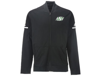Saskatchewan Roughriders adidas CFL Men's Squad Bomber Jacket