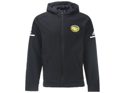 Edmonton Eskimos adidas CFL Men's Squad Woven Full Zip Jacket