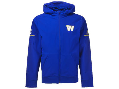 Winnipeg Blue Bombers adidas CFL Men's Squad Woven Full Zip Jacket