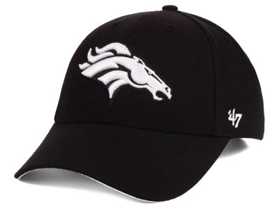 Denver Broncos '47 NFL Black & White MVP Cap