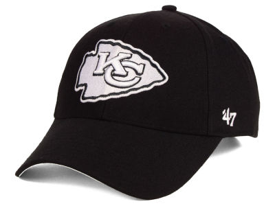 Kansas City Chiefs '47 NFL Black & White MVP Cap