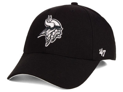 Minnesota Vikings '47 NFL Black & White MVP Cap