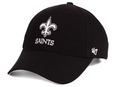 New Orleans Saints '47 NFL Black & White MVP Cap