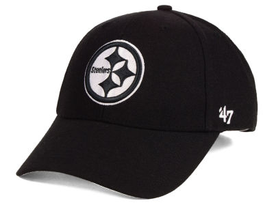 Pittsburgh Steelers '47 NFL Black & White MVP Cap