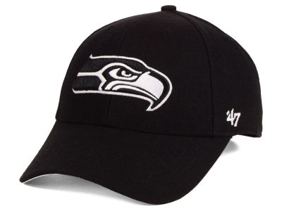 Seattle Seahawks '47 NFL Black & White MVP Cap