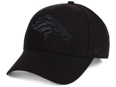 ce2db325e10 Denver Broncos  47 NFL Black   Black MVP Cap