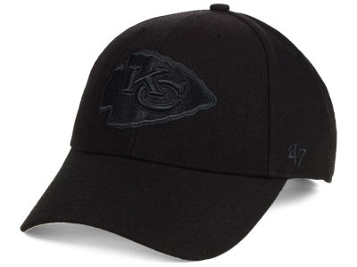 Kansas City Chiefs '47 NFL Black & Black MVP Cap