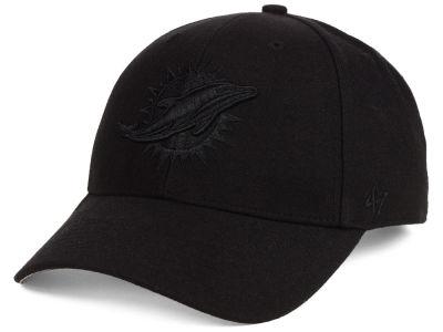 6593bb2f8aa Miami Dolphins  47 NFL Black   Black MVP Cap