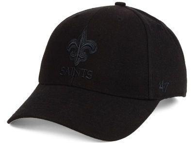 New Orleans Saints '47 NFL Black & Black MVP Cap