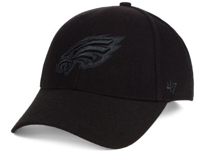 Philadelphia Eagles '47 NFL Black & Black MVP Cap