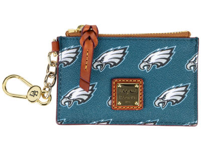 Philadelphia Eagles Dooney & Bourke Zip Top Card Case