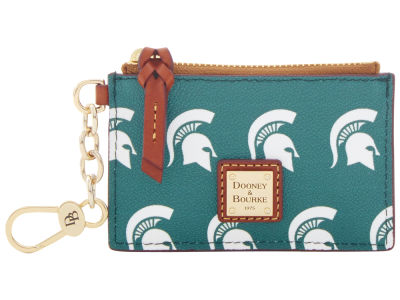 Michigan State Spartans Dooney & Bourke Zip Top Card Case