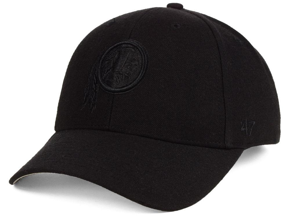 Washington Redskins  47 NFL Black   Black MVP Cap  a290234bb07
