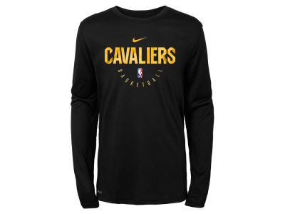 Cleveland Cavaliers Nike NBA Youth Long Sleeve Practice T-Shirt