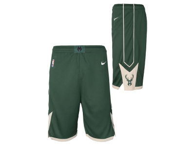 Milwaukee Bucks Nike NBA Youth Icon Swingman Short