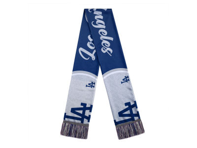 Los Angeles Dodgers Women's Glitter Script Wordmark Scarf