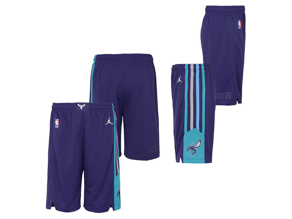 Charlotte Hornets Nike NBA Youth Statement Swingman Short   lids.com 95e2acdd9d