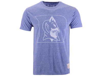 Duke Blue Devils Retro Brand NCAA Men's Mock Twist Vault Logo T-Shirt