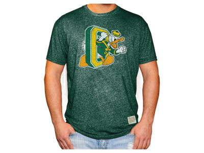Oregon Ducks Retro Brand NCAA Men's Mock Twist Vault Logo T-Shirt