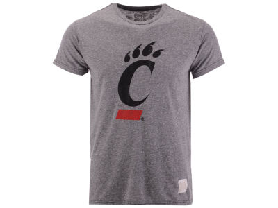 Cincinnati Bearcats NCAA Men's Retro Logo Tri-blend T-Shirt