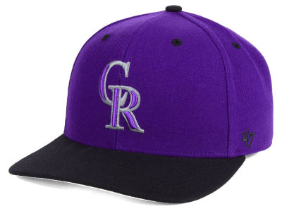 Colorado Rockies '47 MLB 2 Tone MVP Cap