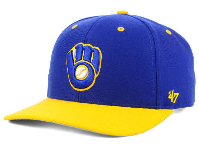Milwaukee Brewers '47 MLB 2 Tone Coop MVP Cap