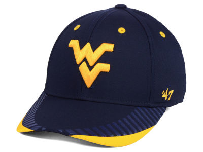 West Virginia Mountaineers '47 NCAA Temper CONTENDER Flex Cap