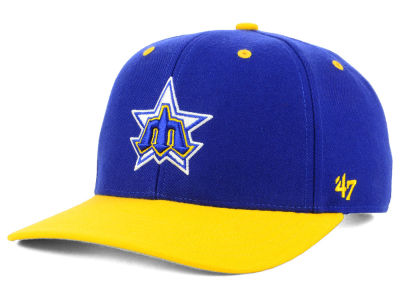 Seattle Mariners '47 MLB 2 Tone Coop MVP Cap