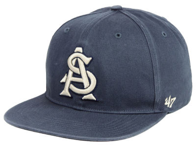Arizona State Sun Devils '47 NCAA Navy Go Shot CAPTAIN Cap
