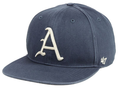 Arkansas Razorbacks '47 NCAA Navy Go Shot CAPTAIN Cap