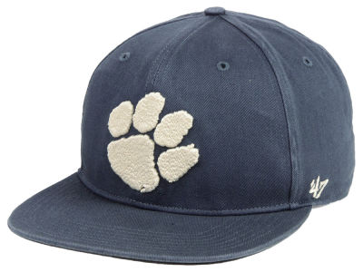 Clemson Tigers '47 NCAA Navy Go Shot CAPTAIN Cap