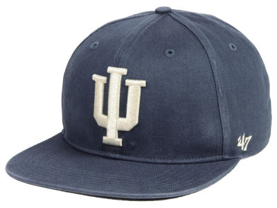 Indiana Hoosiers '47 NCAA Navy Go Shot CAPTAIN Cap