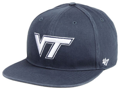 Virginia Tech Hokies '47 NCAA Navy Go Shot CAPTAIN Cap