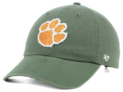 Clemson Tigers '47 NCAA Women's Glitta CLEAN UP Cap