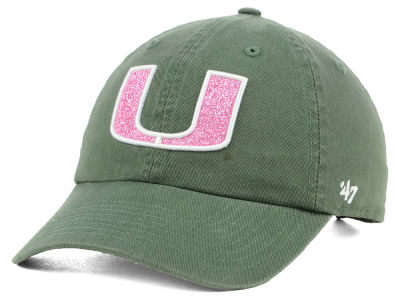 Miami Hurricanes '47 NCAA Women's Glitta CLEAN UP Cap