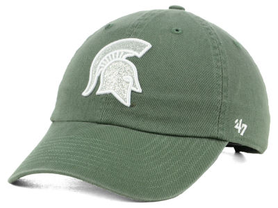 Michigan State Spartans '47 NCAA Women's Glitta CLEAN UP Cap