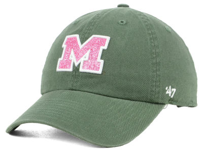Michigan Wolverines '47 NCAA Women's Glitta CLEAN UP Cap
