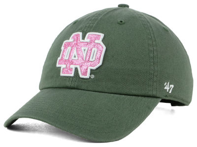 Notre Dame Fighting Irish '47 NCAA Women's Glitta CLEAN UP Cap