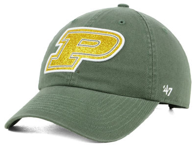 Purdue Boilermakers '47 NCAA Women's Glitta CLEAN UP Cap