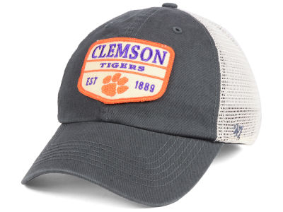 Clemson Tigers '47 NCAA Doherty Mesh CLEAN UP Cap
