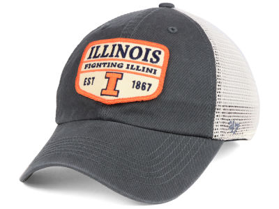 Illinois Fighting Illini '47 NCAA Doherty Mesh CLEAN UP Cap