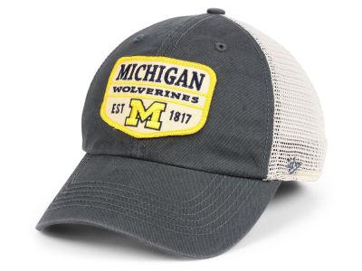 newest 42350 5655b Michigan Wolverines  47 NCAA Doherty Mesh CLEAN UP Cap