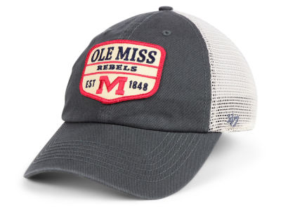 Ole Miss Rebels '47 NCAA Doherty Mesh CLEAN UP Cap