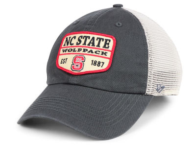 North Carolina State Wolfpack '47 NCAA Doherty Mesh CLEAN UP Cap