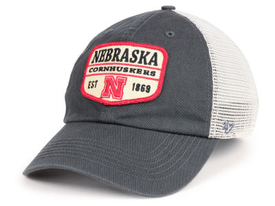 Nebraska Cornhuskers '47 NCAA Doherty Mesh CLEAN UP Cap