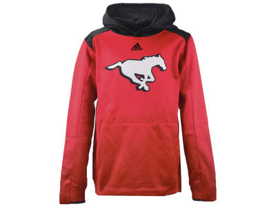 Calgary Stampeders adidas CFL Youth Off-The-Grid Hoodie