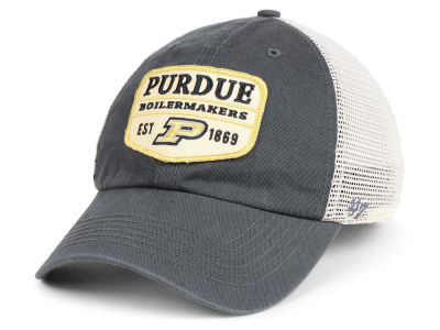 Purdue Boilermakers '47 NCAA Doherty Mesh CLEAN UP Cap