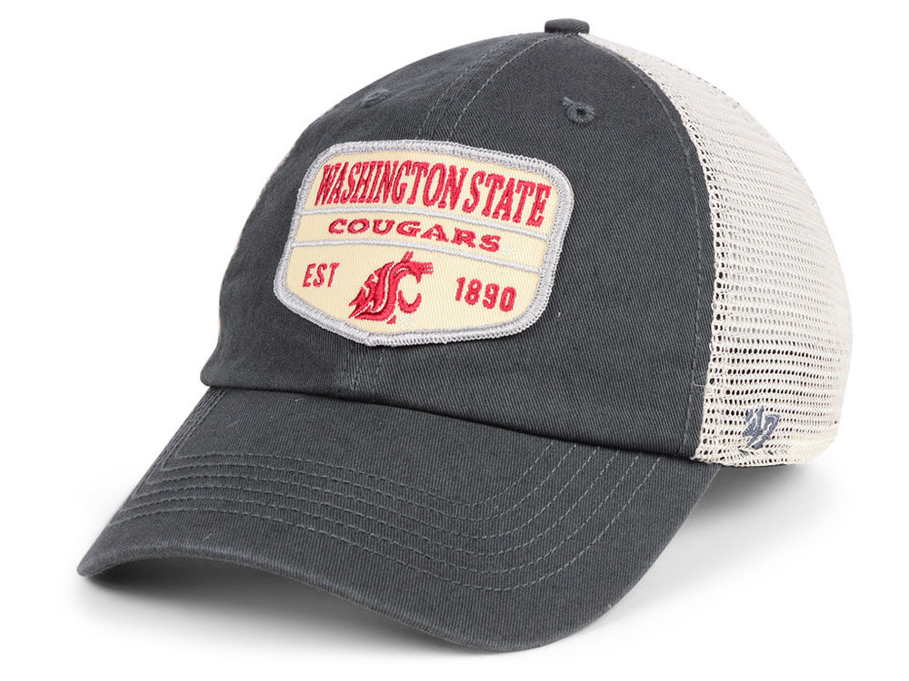 reputable site fd81a 5ec36 ... trucker adjustable performance hat 8d575 ee08c  ireland washington  state cougars 47 ncaa doherty mesh clean up cap f8262 98142