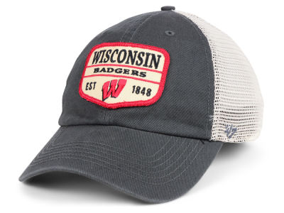 new product b2040 02094 Wisconsin Badgers  47 NCAA Doherty Mesh CLEAN UP Cap