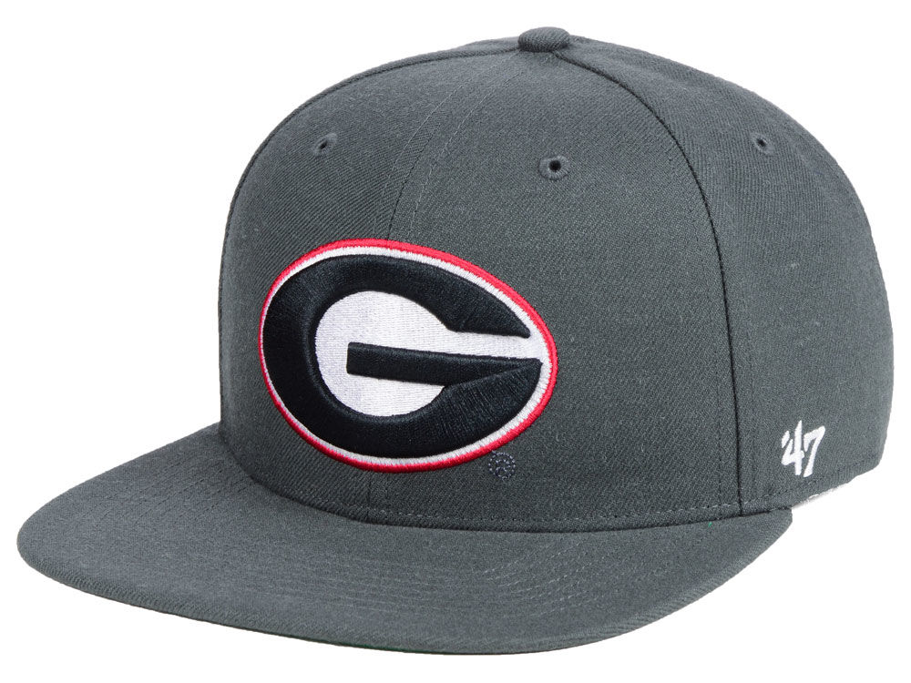 Georgia Bulldogs  47 NCAA Core Fitted Cap  425534dd904